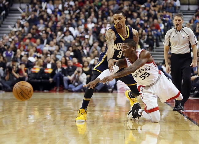 Toronto Raptors vs. Indiana Pacers - 4/16/16 NBA Playoffs Pick, Odds, and Prediction