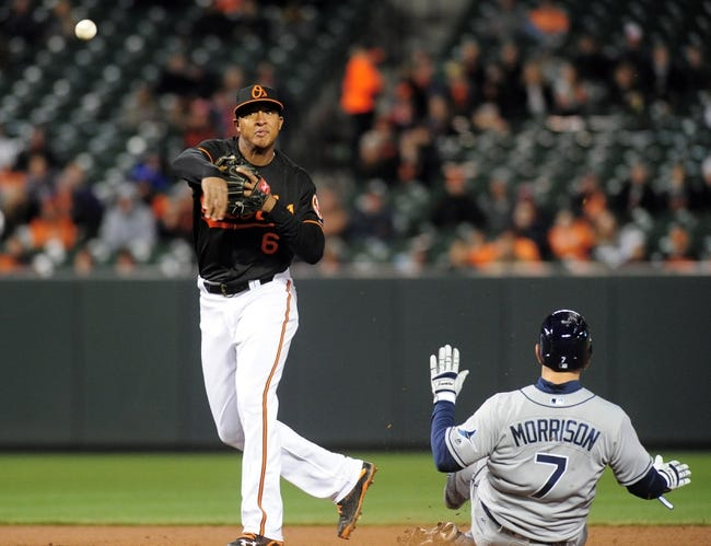 Baltimore Orioles vs. Tampa Bay Rays - 4/10/16 MLB Pick, Odds, and Prediction