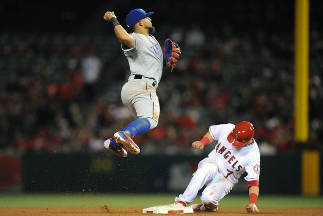 Los Angeles Angels vs. Texas Rangers - 4/9/16 MLB Pick, Odds, and Prediction