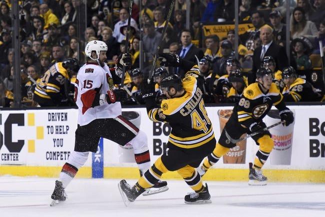 Ottawa Senators vs. Boston Bruins - 11/24/16 NHL Pick, Odds, and Prediction