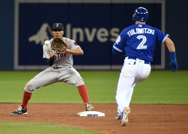 Toronto Blue Jays vs. Boston Red Sox - 4/10/16 MLB Pick, Odds, and Prediction