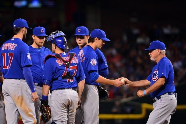 Arizona Diamondbacks vs. Chicago Cubs - 4/10/16 MLB Pick, Odds, and Prediction