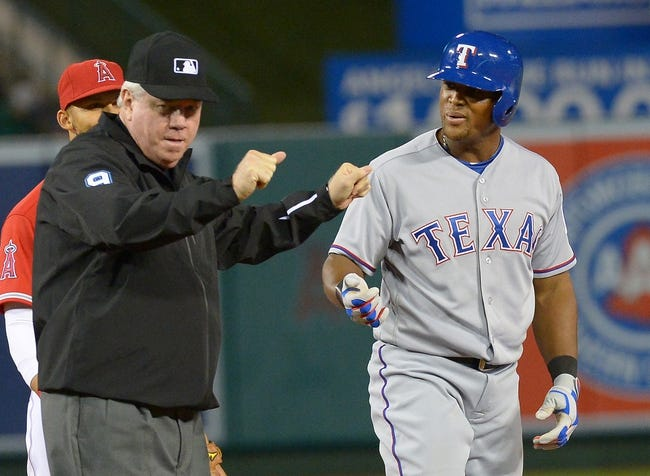 Angels vs. Rangers - 4/10/16 MLB Pick, Odds, and Prediction
