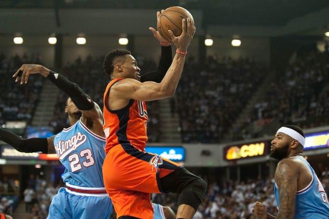 Sacramento Kings vs. Oklahoma City Thunder - 11/23/16 NBA Pick, Odds, and Prediction
