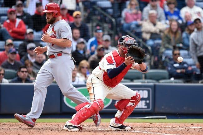 St. Louis Cardinals vs. Atlanta Braves - 8/6/16 MLB Pick, Odds, and Prediction