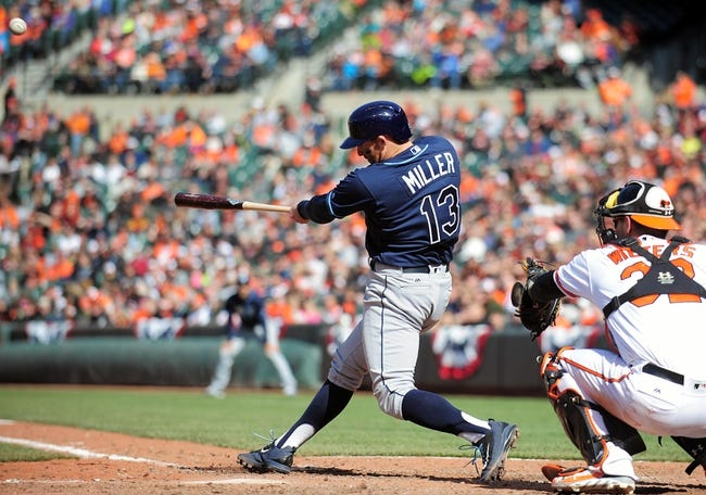 Tampa Bay Rays vs. Baltimore Orioles - 4/25/16 MLB Pick, Odds, and Prediction