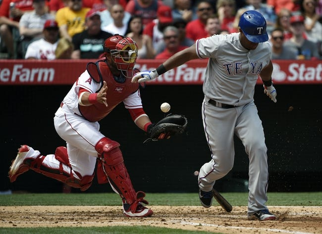 Texas Rangers vs. Los Angeles Angels - 4/30/16 MLB Pick, Odds, and Prediction