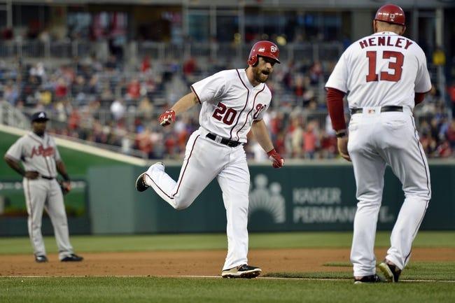 Washington Nationals vs. Atlanta Braves - 4/12/16 MLB Pick, Odds, and Prediction