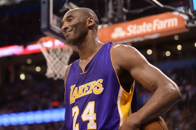 Jazz at Lakers - 4/13/16 NBA Pick, Odds, and Prediction