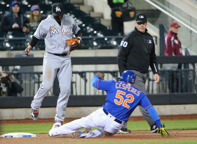 New York Mets vs. Miami Marlins - 4/12/16 MLB Pick, Odds, and Prediction