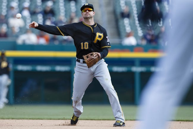 Pittsburgh Pirates vs. Detroit Tigers - 4/13/16 MLB Pick, Odds, and Prediction