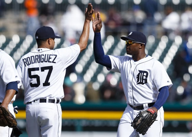 Pittsburgh Pirates vs. Detroit Tigers - 4/14/16 MLB Pick, Odds, and Prediction