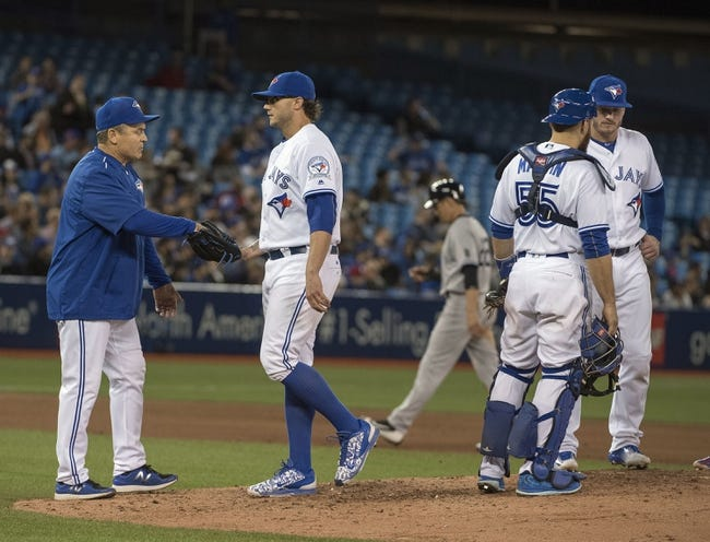 Toronto Blue Jays vs. New York Yankees - 4/13/16 MLB Pick, Odds, and Prediction