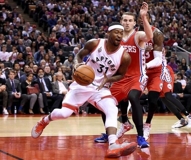 Toronto Raptors vs. Philadelphia 76ers - 11/28/16 NBA Pick, Odds, and Prediction