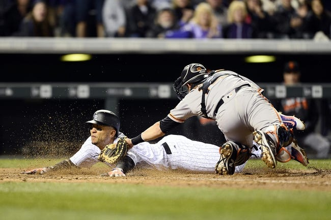 Colorado Rockies vs. San Francisco Giants - 4/13/16 MLB Pick, Odds, and Prediction