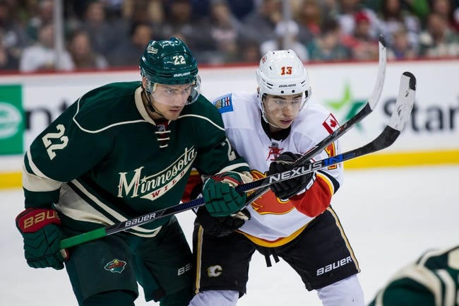 Minnesota Wild vs. Calgary Flames - 11/15/16 NHL Pick, Odds, and Prediction