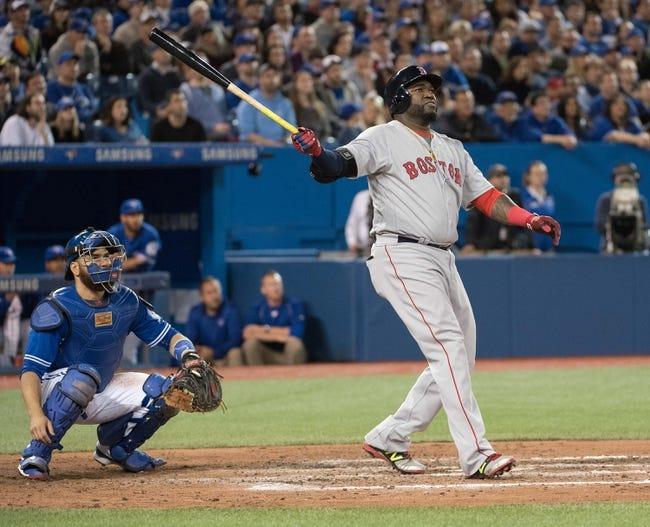 Boston Red Sox vs. Toronto Blue Jays - 4/15/16 MLB Pick, Odds, and Prediction