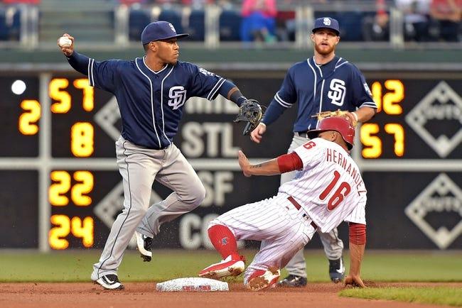 Philadelphia Phillies vs. San Diego Padres - 4/14/16 MLB Pick, Odds, and Prediction