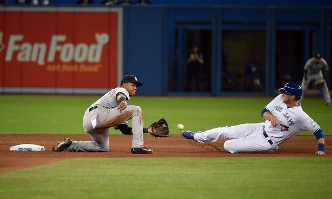 Toronto Blue Jays vs. New York Yankees - 4/14/16 MLB Pick, Odds, and Prediction