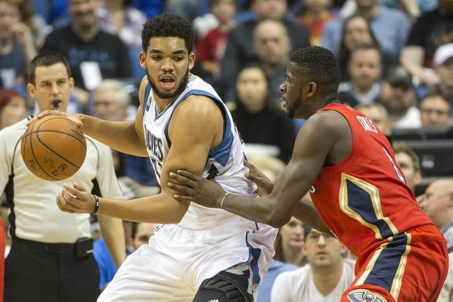 New Orleans Pelicans vs. Minnesota Timberwolves - 11/23/16 NBA Pick, Odds, and Prediction