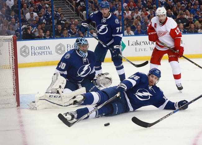 Red Wings at Lightning Game 2- 4/15/16 NHL Pick, Odds, and Prediction