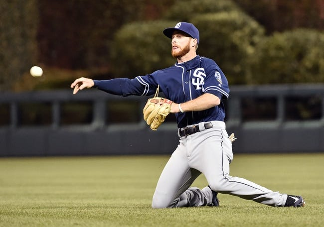 San Diego Padres vs. Philadelphia Phillies - 8/5/16 MLB Pick, Odds, and Prediction