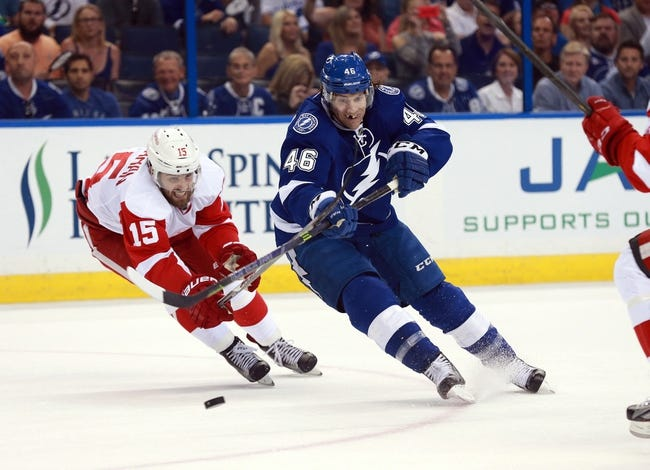 Tampa Bay Lightning vs. Detroit Red Wings - 4/15/16 NHL Pick, Odds, and Prediction