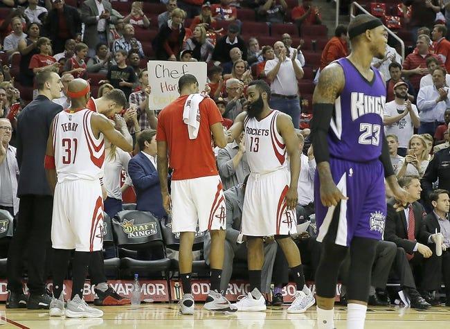 Sacramento Kings vs. Houston Rockets - 11/25/16 NBA Pick, Odds, and Prediction