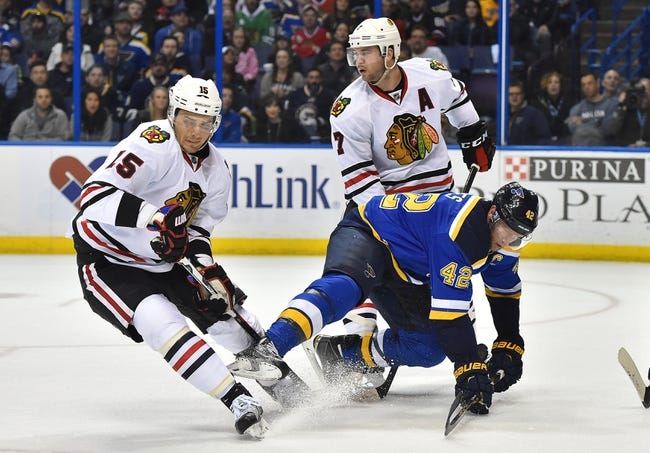 NHL News 4/14/16: Blues Take 1-0 Lead With OT Win Over Blackhawks