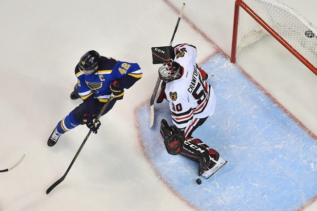 Blackhawks at Blues Game 2- 4/15/16 NHL Pick, Odds, and Prediction