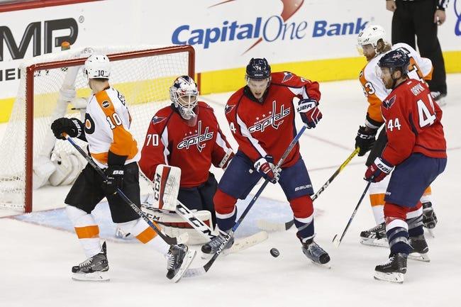 Washington Capitals vs. Philadelphia Flyers - 4/16/16 NHL Pick, Odds, and Prediction
