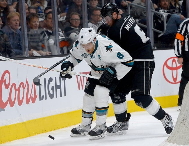 NHL News 4/15/16: Sharks Edge Kings 4-3 on Pavelski's Two Goals in Game One