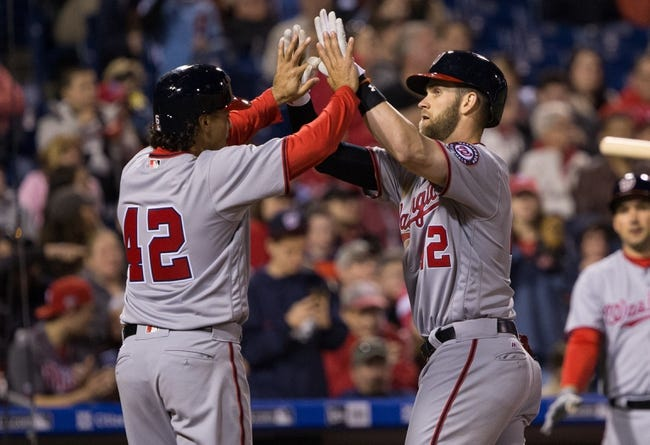 Philadelphia Phillies vs. Washington Nationals - 4/16/16 MLB Pick, Odds, and Prediction
