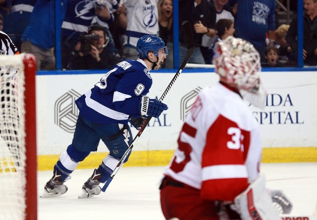 Detroit Red Wings vs. Tampa Bay Lightning - 4/17/16 NHL Pick, Odds, and Prediction