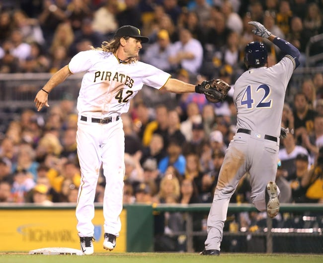 Pittsburgh Pirates vs. Milwaukee Brewers - 4/16/16 MLB Pick, Odds, and Prediction