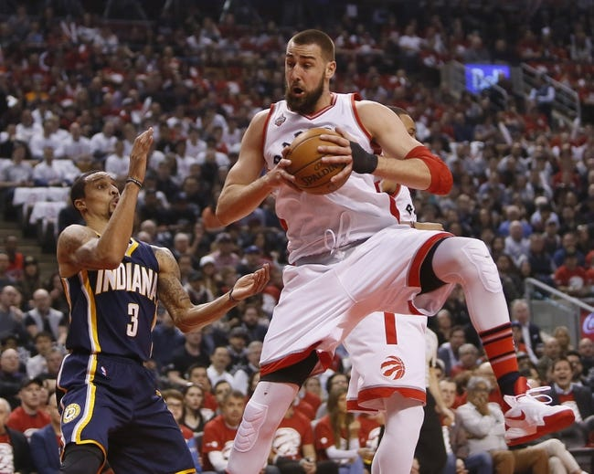 Pacers at Raptors Game 2 - 4/18/16 NBA Pick, Odds, and Prediction