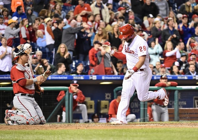 Philadelphia Phillies vs. Washington Nationals - 4/17/16 MLB Pick, Odds, and Prediction