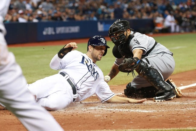 Chicago White Sox vs. Tampa Bay Rays - 9/27/16 MLB Pick, Odds, and Prediction
