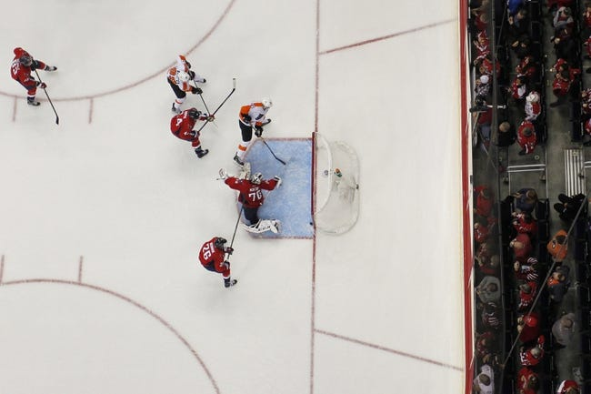 Capitals at Flyers Game 3 - 4/18/16 NHL Pick, Odds, and Prediction