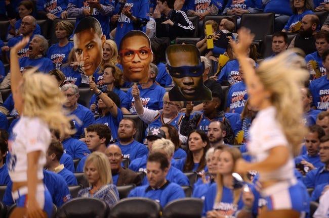 Mavericks at Thunder Game 2 - 4/18/16 NBA Pick, Odds, and Prediction