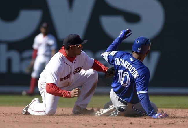 Boston Red Sox vs. Toronto Blue Jays - 4/18/16 MLB Pick, Odds, and Prediction