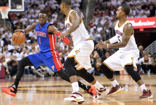 Pistons at Cavaliers Game 2 - 4/20/16 NBA Pick, Odds, and Prediction