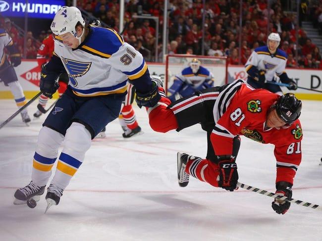 NHL News 4/20/16: Blues Edge Blackhawks For 3-1 Series Lead