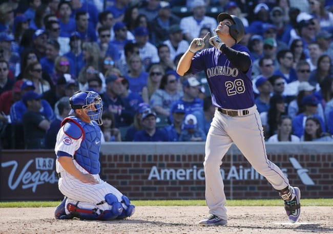Colorado Rockies vs. Chicago Cubs - 8/19/16 MLB Pick, Odds, and Prediction