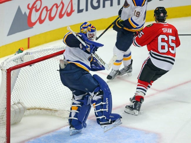Chicago Blackhawks vs. St. Louis Blues - 4/19/16 NHL Pick, Odds, and Prediction