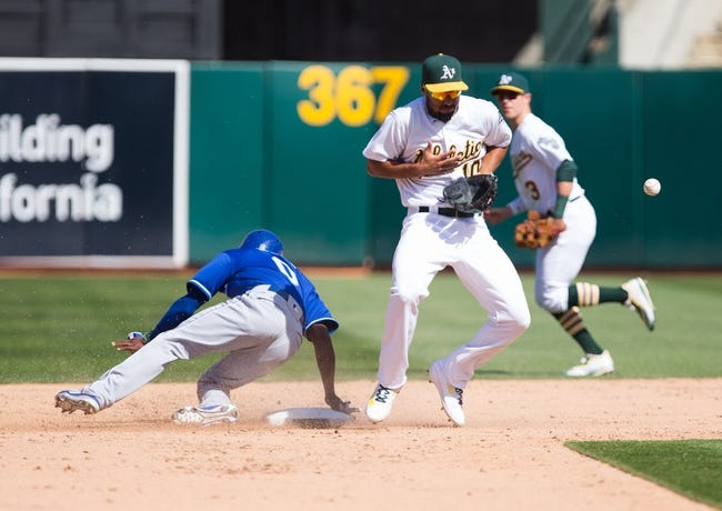 Royals vs. Athletics - 9/12/16 MLB Pick, Odds, and Prediction