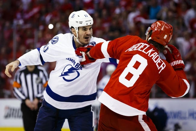 Lightning at Red Wings Game 4 - 4/19/16 NHL Pick, Odds, and Prediction