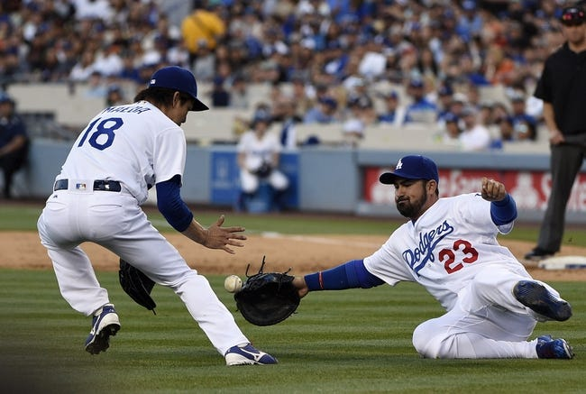 San Francisco Giants vs. Los Angeles Dodgers - 6/10/16 MLB Pick, Odds, and Prediction