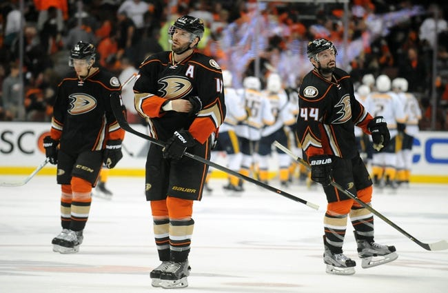 Ducks at Predators Game 3 - 4/19/16 NHL Pick, Odds, and Prediction