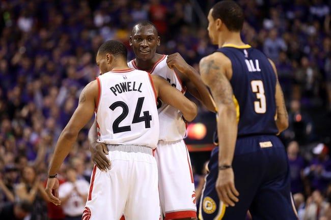 Raptors at Pacers Game 3 - 4/21/16 NBA Pick, Odds, and Prediction